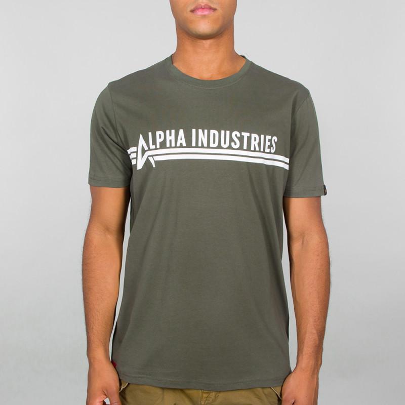 Alpha Industries T - dark olive