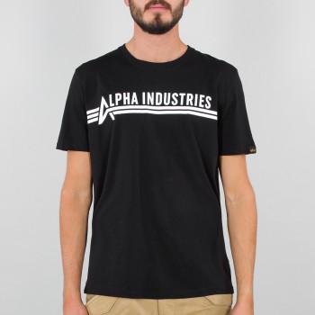 Alpha Industries T - black/white