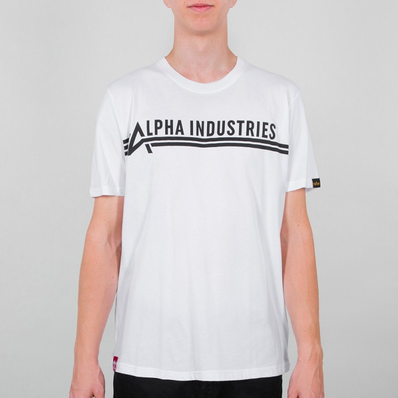 Alpha Industries T - white/black