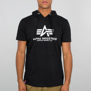 Basic T Hooded - black