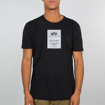 Reflective Label T - black