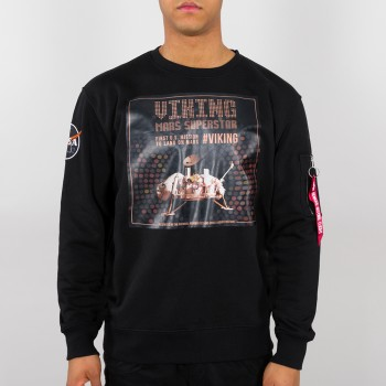 Viking Superstar Sweater - black