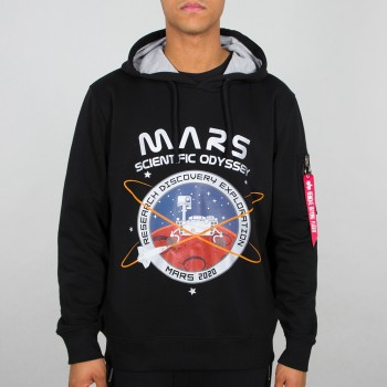 Mission To Mars Hoody - black