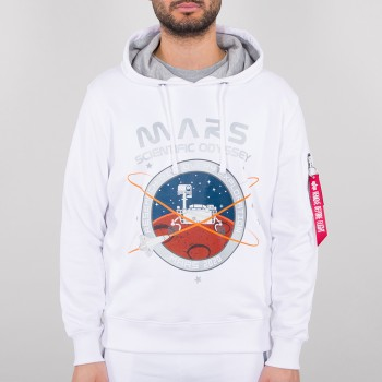 Mission To Mars Hoody - white