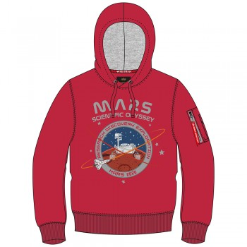 Mission To Mars Hoody - speed red