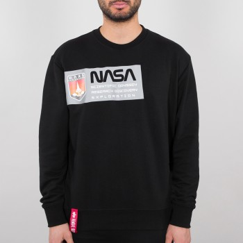 Mars Reflective Sweater - black