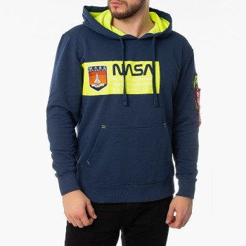 Mars Neon Hoody - new navy
