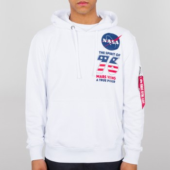 Viking Basic Hoody - white