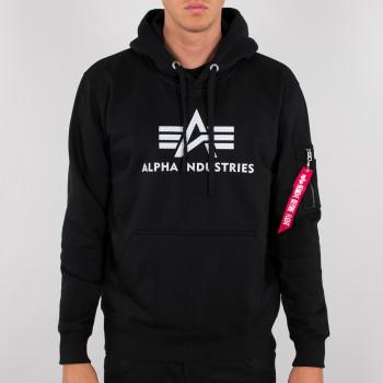3D Logo Hoody - black