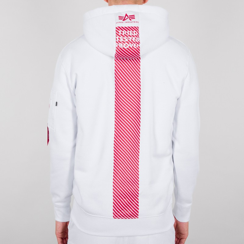 Safety Line Hoody - white