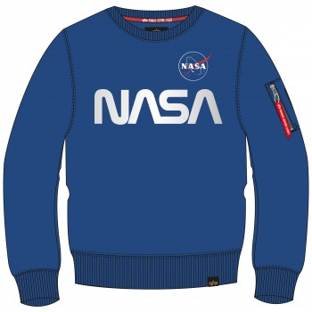 NASA Reflective Sweater - nasa blue