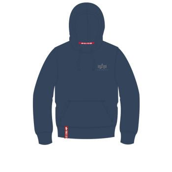 Basic Hoody Small Logo - replica blue