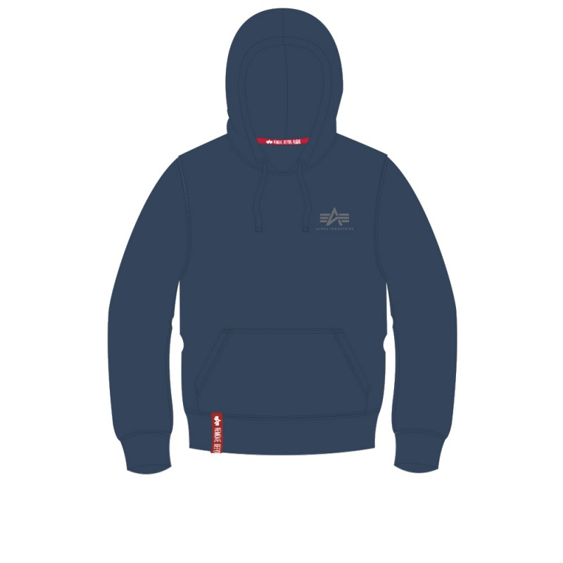 Basic Hoody Small Logo - replica blue