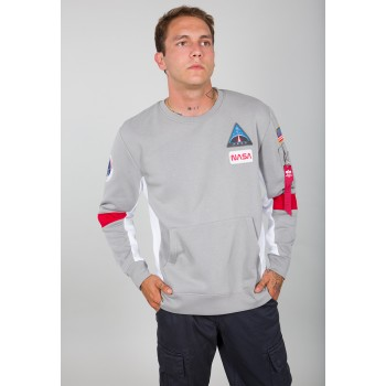 Space Camp Sweater - silver