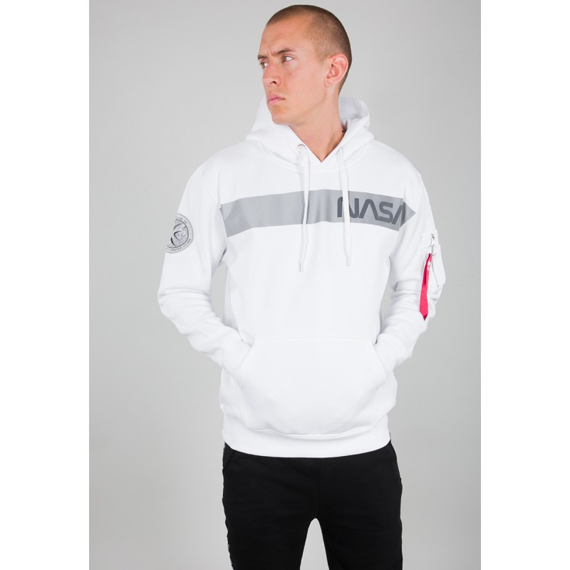 NASA RS Hoody - white