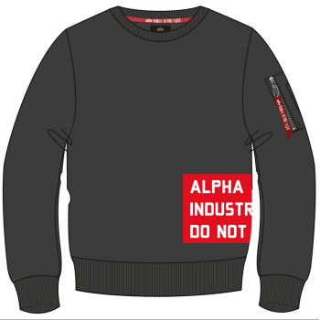 Do Not Remove Sweater - black