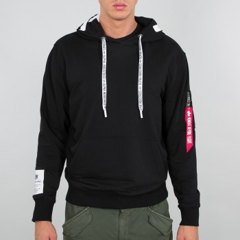 Alpha Hoody - black