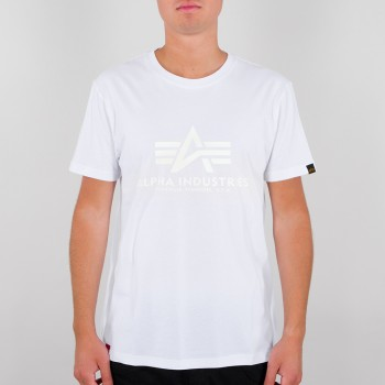 Basic T Kryptonite - white