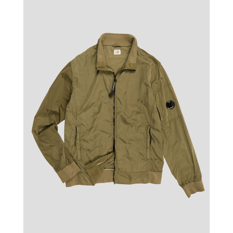 Chrome Lens Jacket - burnt olive