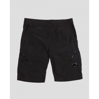 50 FILI PLATED LENS POCKET SHORTS - BLACK