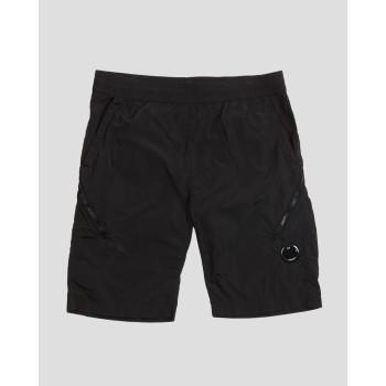 50 Fili Plated Lens Pocket Shorts - fekete