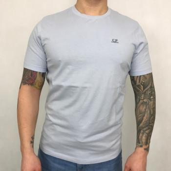 Jersey 30/1 Chest Logo T-shirt - halogen blue