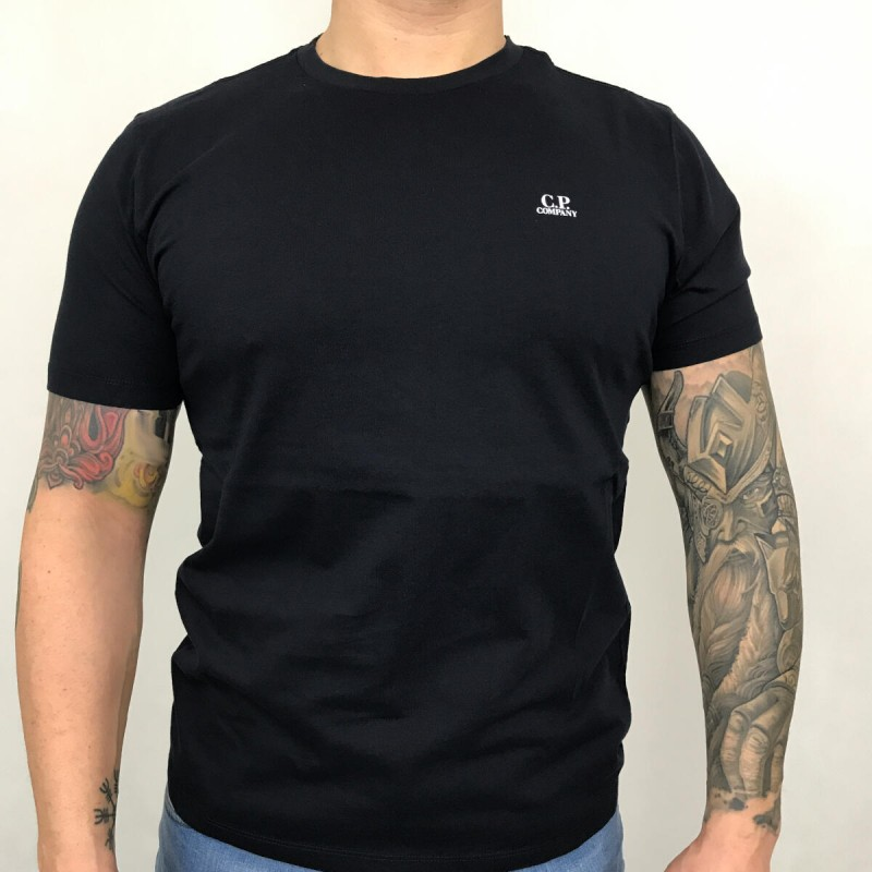 Jersey 30/1 Chest Logo T-shirt - total eclipse