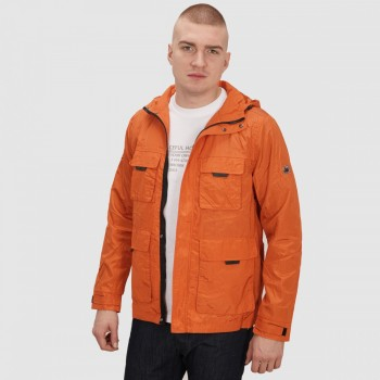 NATHAN JACKET - ORANGE