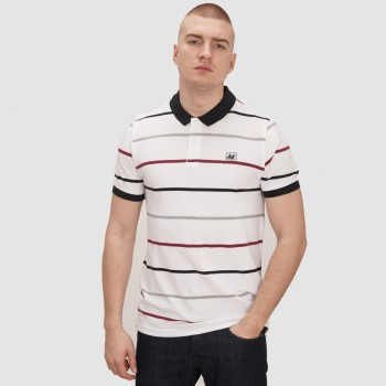 Carlton Polo - white stripe