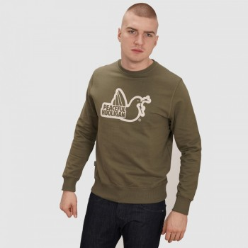 Outline Sweatshirt - olive
