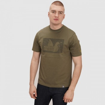 Justice T-shirt - olive