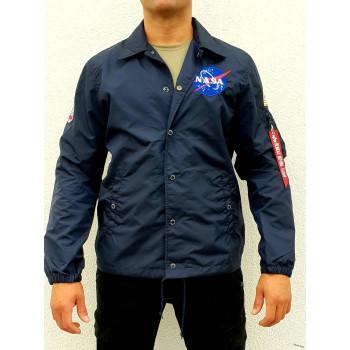 NASA Coach Jacket - replica blue