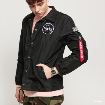 NASA Coach Jacket - black