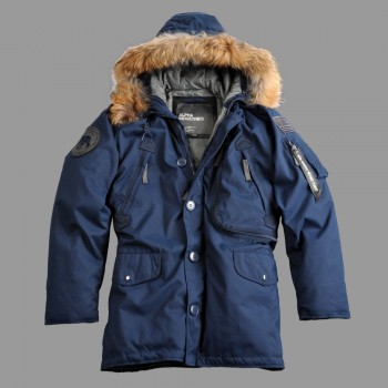 Polar Jacket Down RF - replica blue