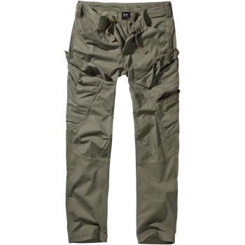 Adven Slim Fit Trousers - olive