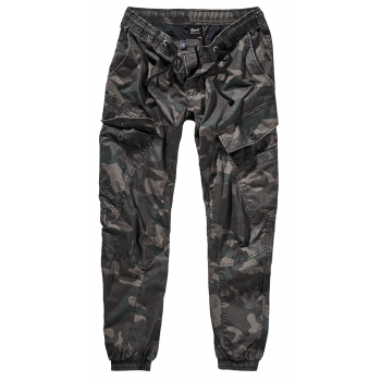 Ray Vintage Trousers - dark camo