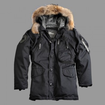 Polar Jacket Down RF - black