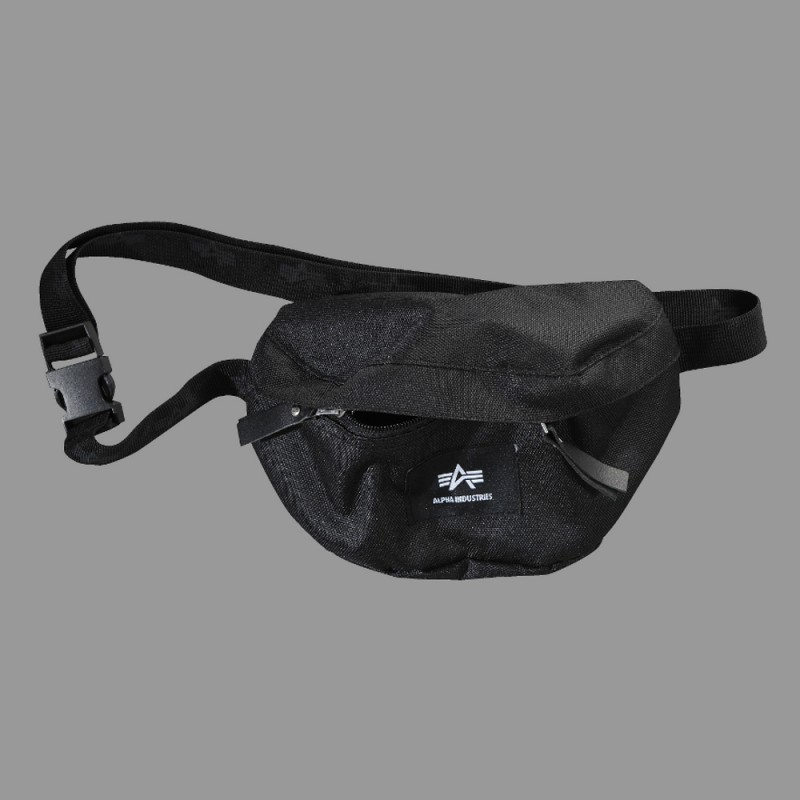 Big A Oxford Waist Bag - black