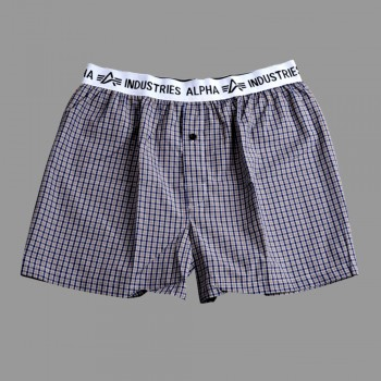 Bodywear Boxer Checked - brown