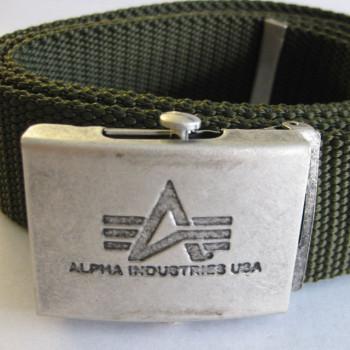 Heavy Duty Belt 4 cm - replica grey