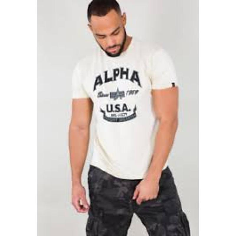 Alpha FJ T - vintage white