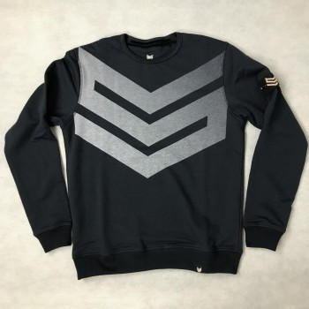 Big Logo Sweater - dark blue