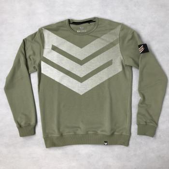 Big Logo Sweater - olive