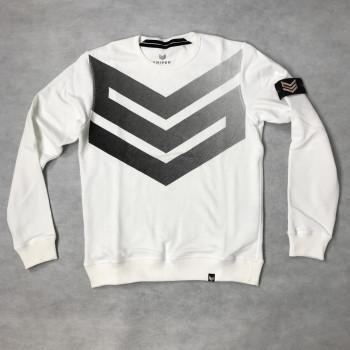 Big Logo Sweater - fehér