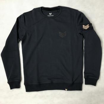 Rubber Logo Sweater - dark blue