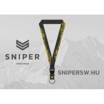 Sniper Aviator Lanyard - black