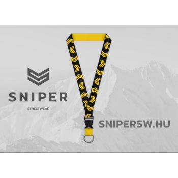 Sniper Logo Lanyard - black