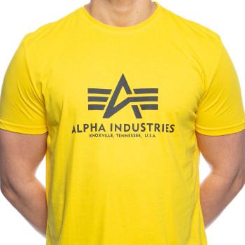 Basic T - empire yellow