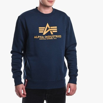 Basic Sweater - new navy/wheat