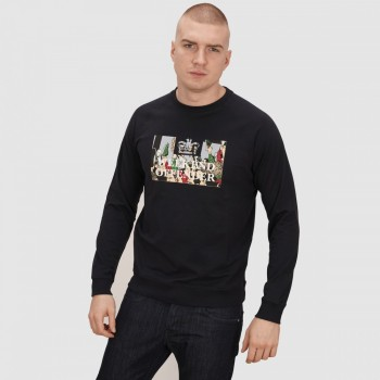 Foot Soldiers Sweat - navy